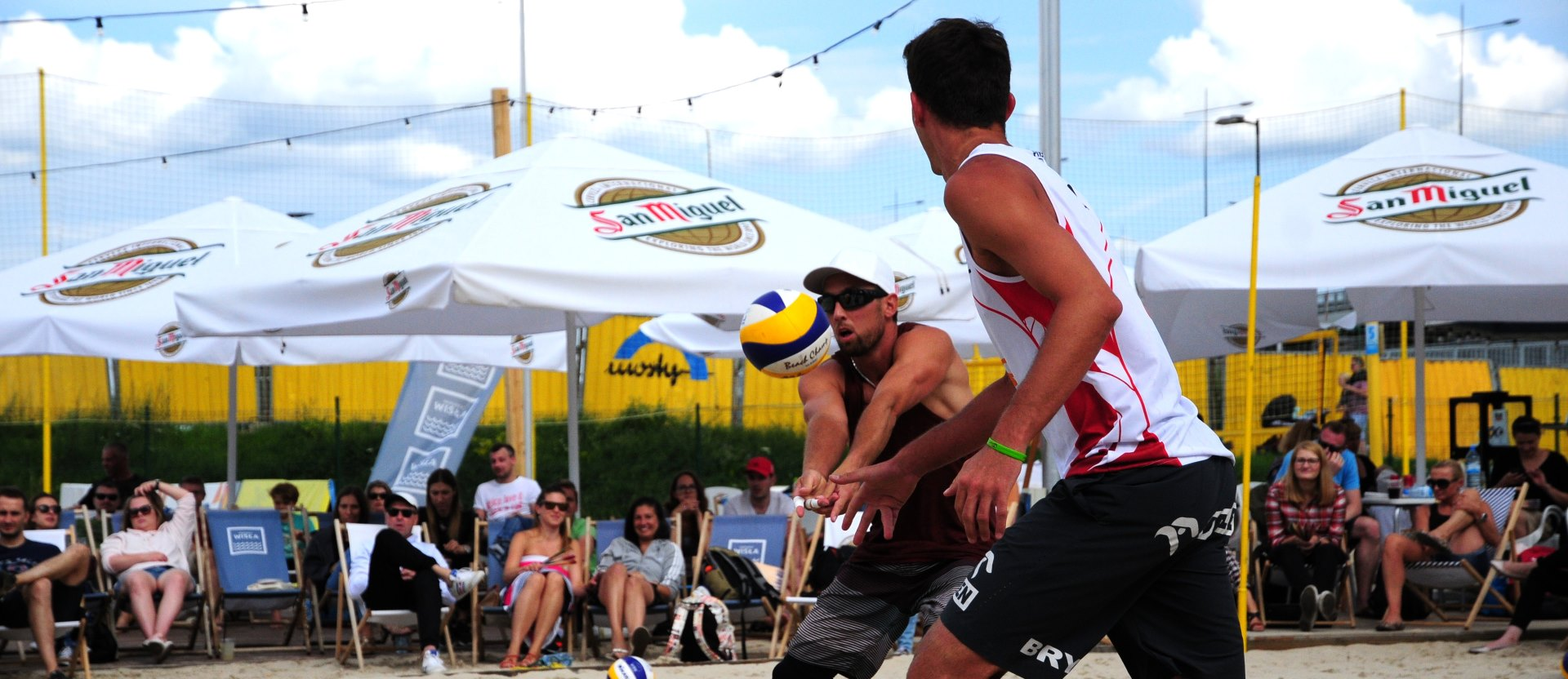 Grzegorz Fijalek Michal Bryl Monta Beach Volleyball Club