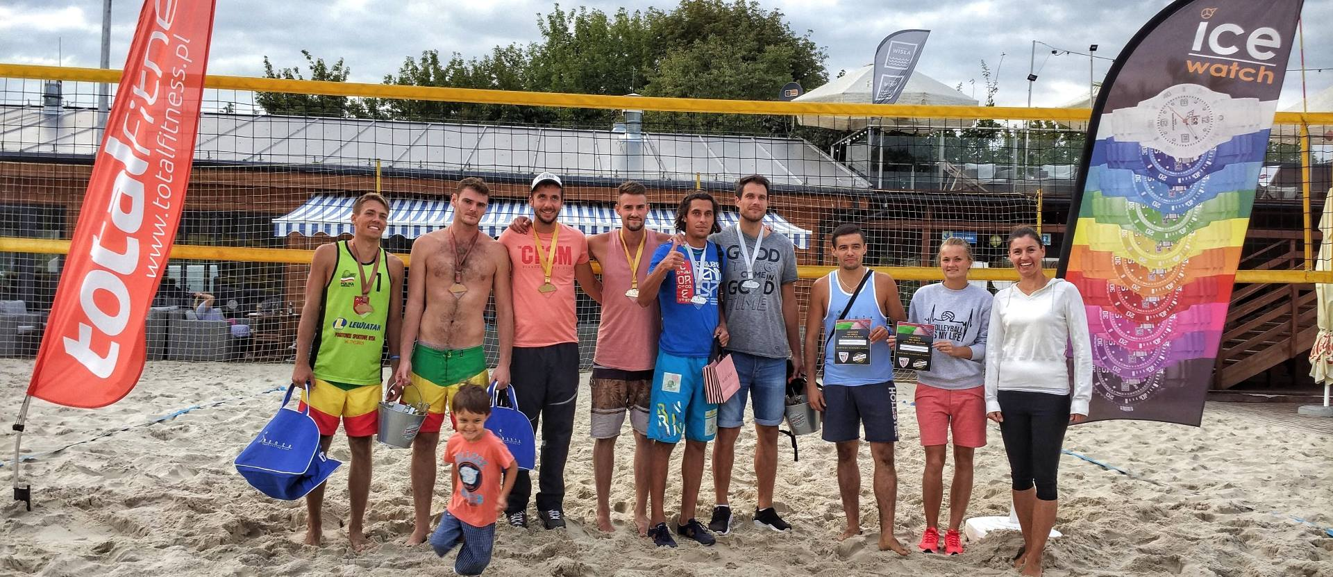VIII final ice watch beach volleyball cup monta club panowie