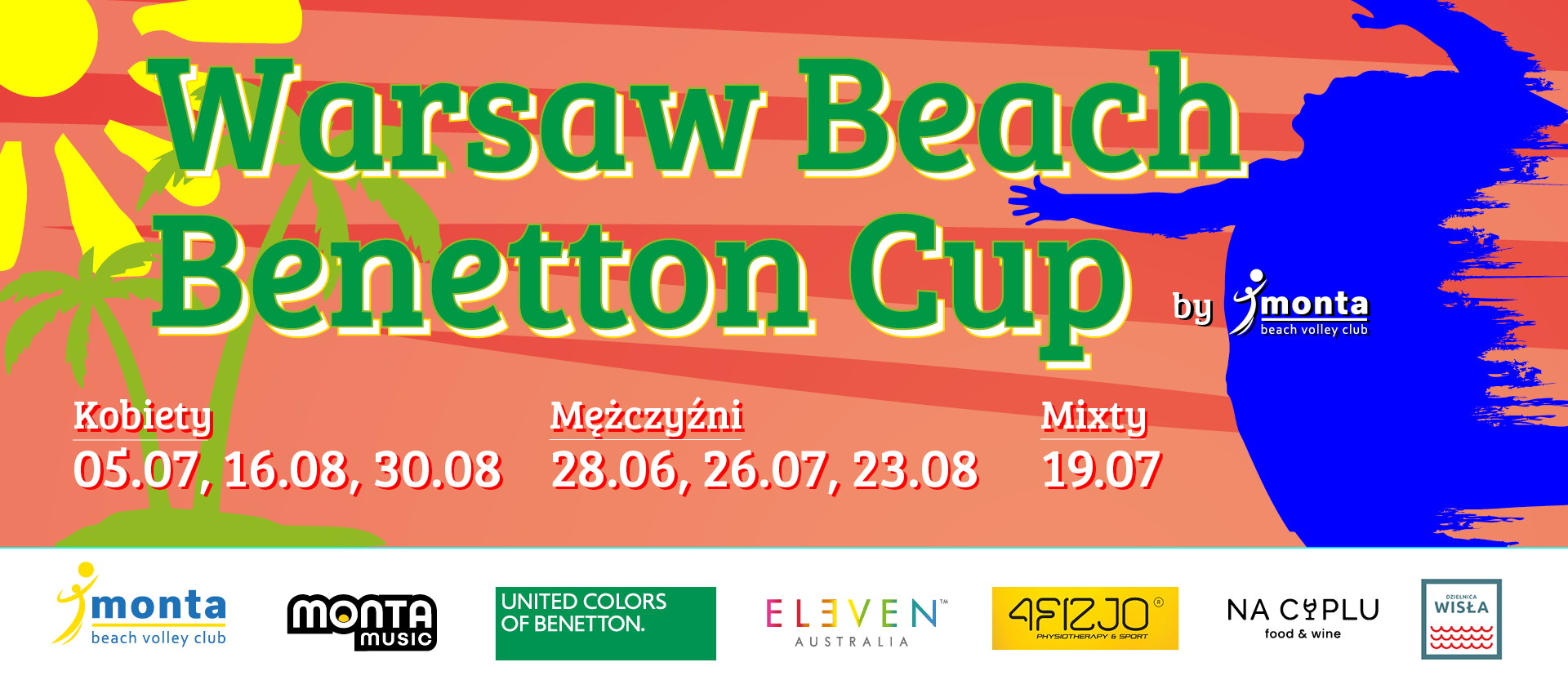 Ranking Warsaw Beach Benetton Cup 2020