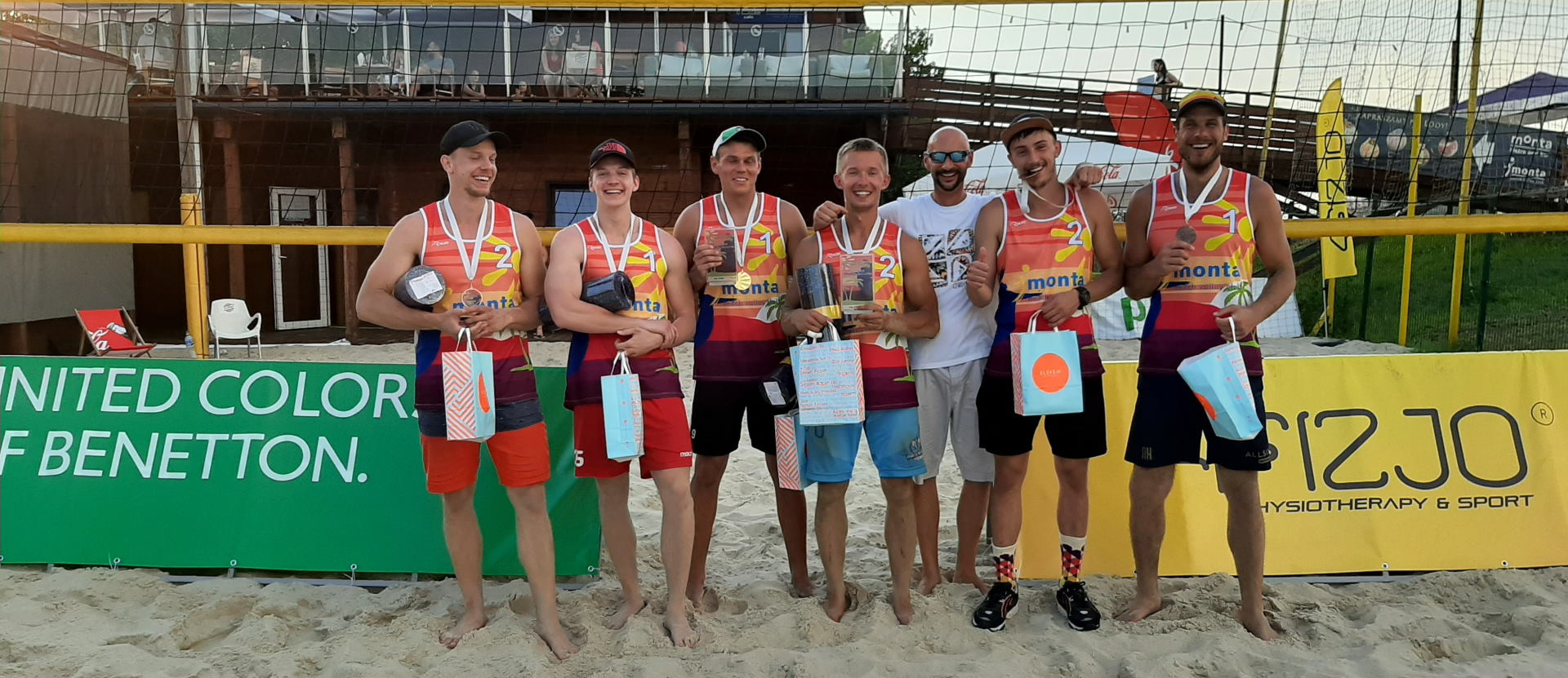 I Warsaw Beach Benetton Cup