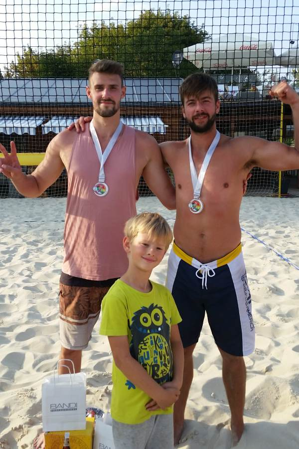 II miejsce ice watch beach volleyball cup monta club