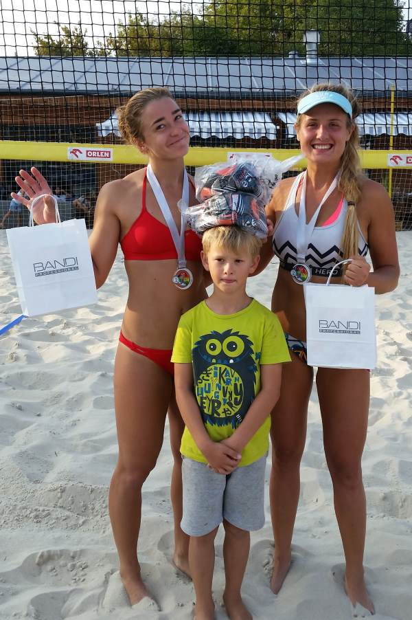 II miejsce ice watch beach volleyball cup monta club panie