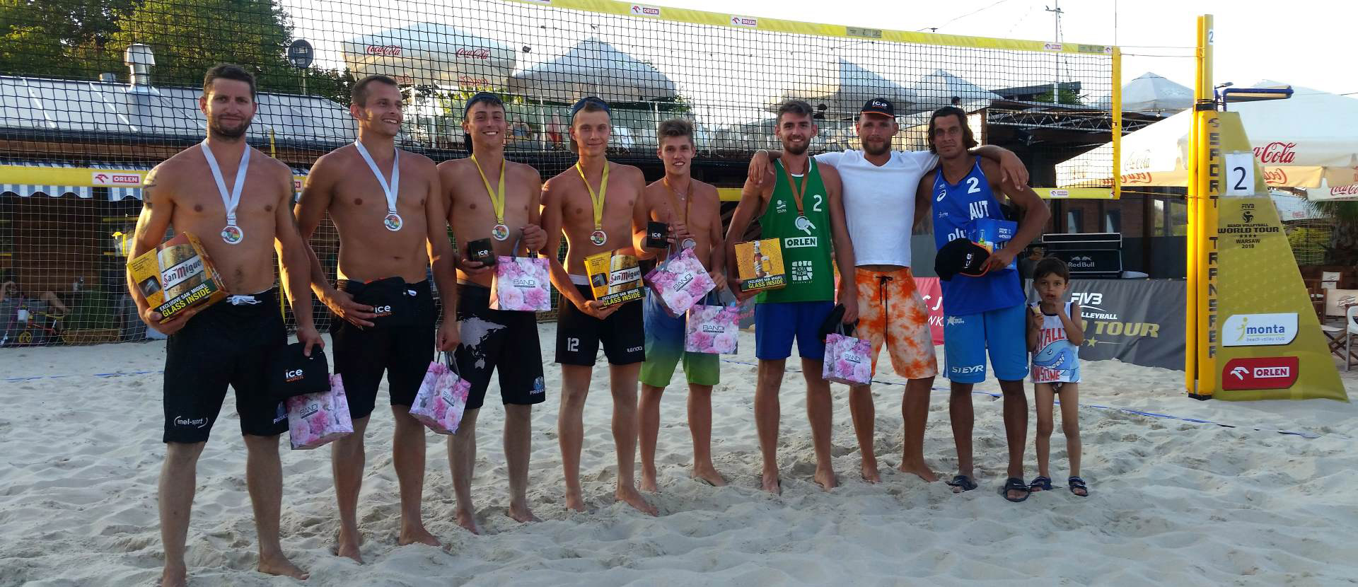 IV edycja Ice watch beach volleyball cup 2018 mezczyzni