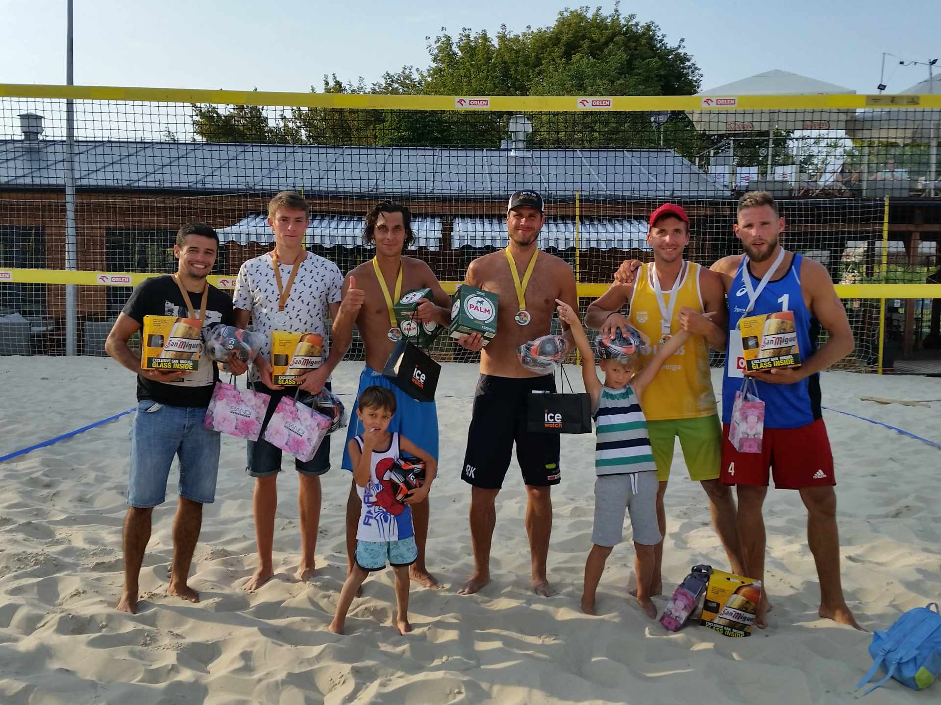 VI ice watch beach volleyball cup 2018 mezczyzni